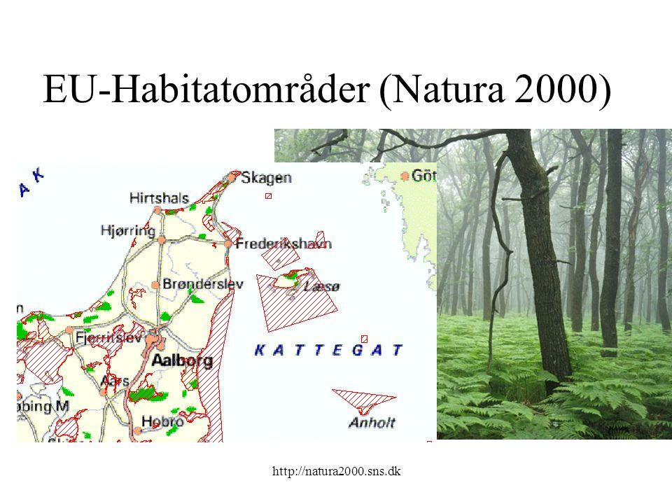 http://natura2000.sns.dk EU-Habitatområder (Natura 2000)