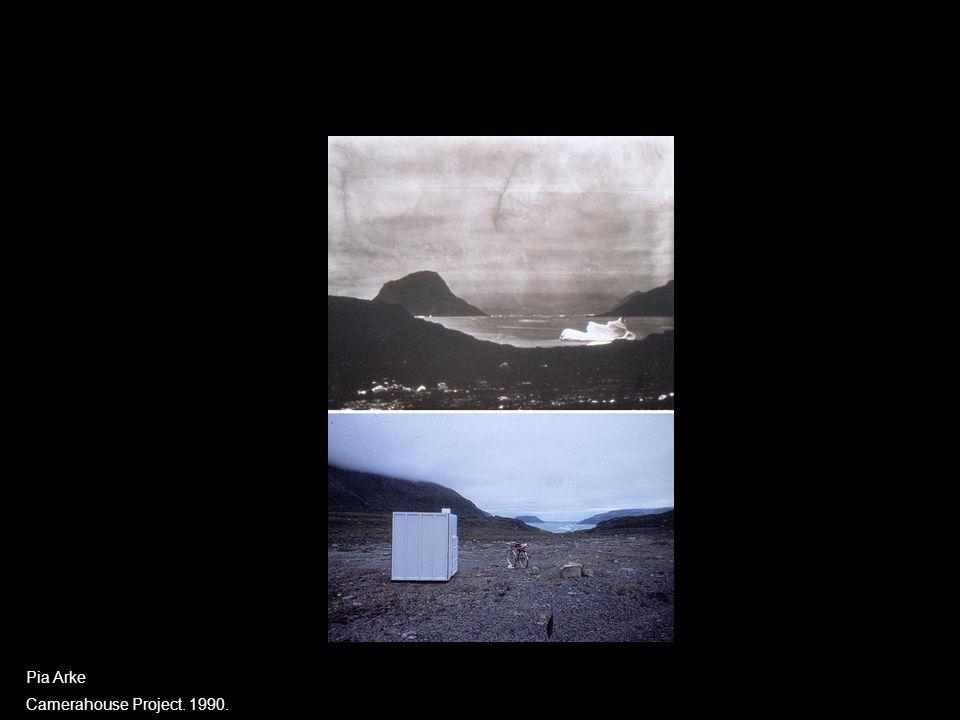 Digital videoformidling Pia Arke Camerahouse Project. 1990.