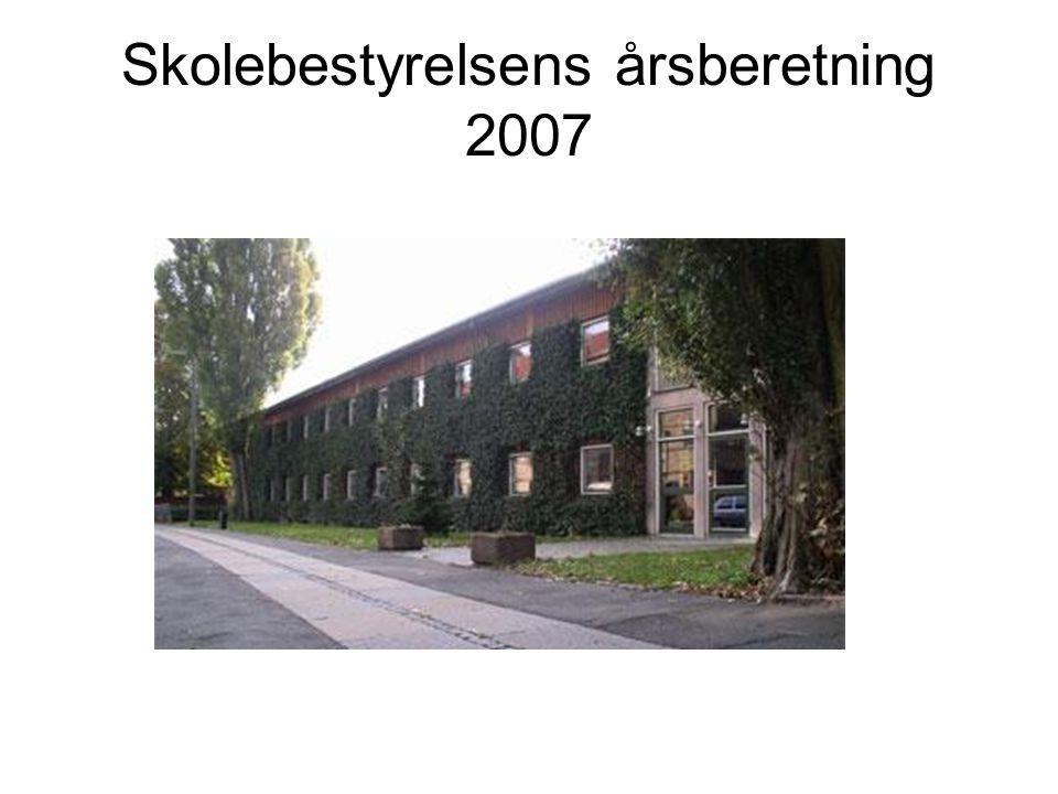 Skolebestyrelsens årsberetning 2007