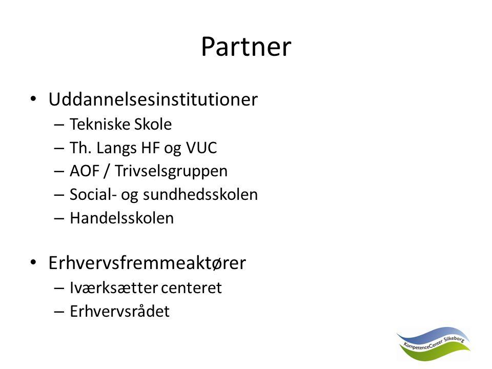 Partner Uddannelsesinstitutioner – Tekniske Skole – Th.