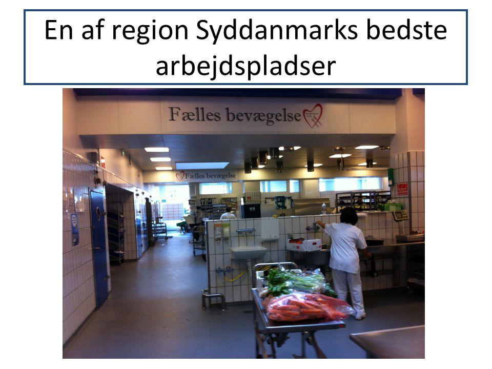 En af region Syddanmarks bedste arbejdspladser