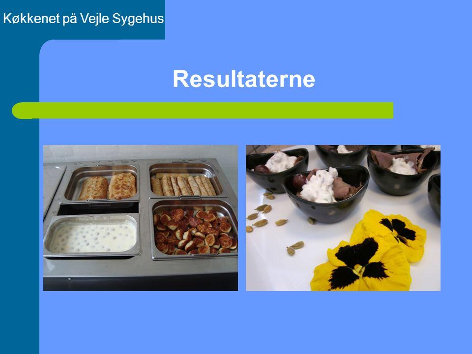 Resultaterne Køkkenet på Vejle Sygehus