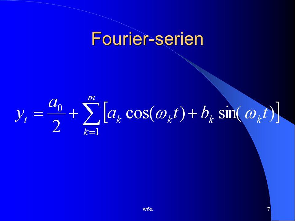w6a7 Fourier-serien