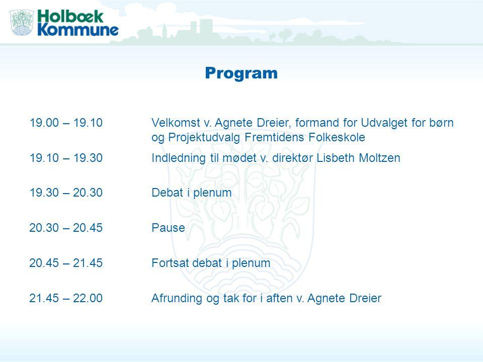 Program 19.00 – 19.10Velkomst v.