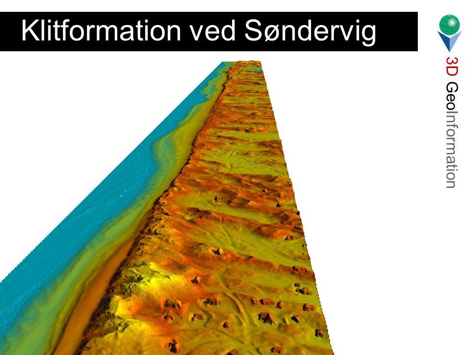 3D GeoInformation Lars Bodum Landinspektørstudiets 7. Semester 2001 Klitformation ved Søndervig