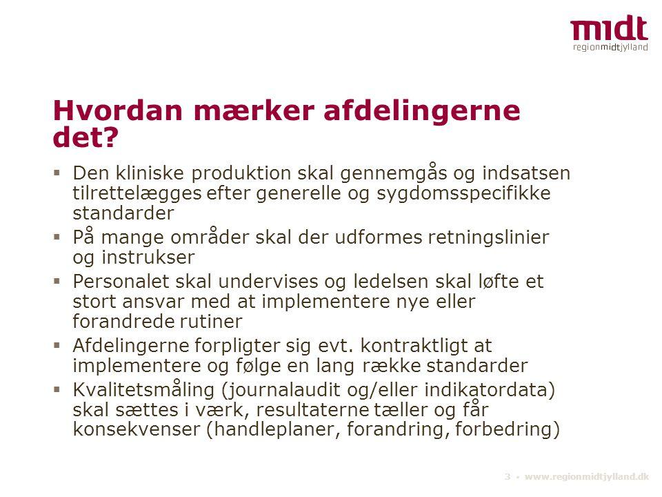 3 ▪ www.regionmidtjylland.dk Hvordan mærker afdelingerne det.