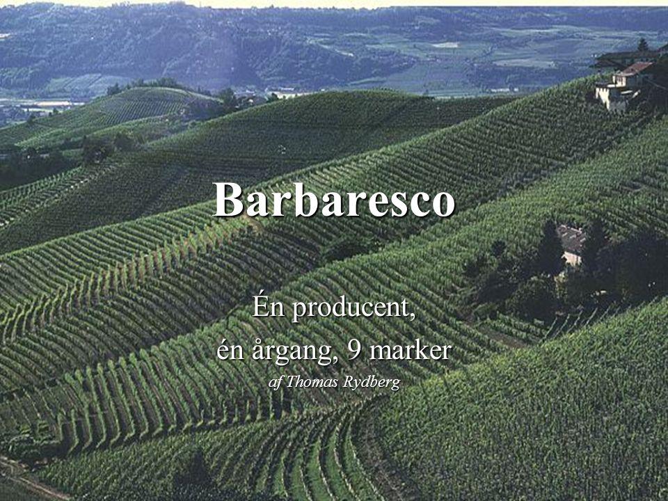 Barbaresco Én producent, én årgang, 9 marker af Thomas Rydberg