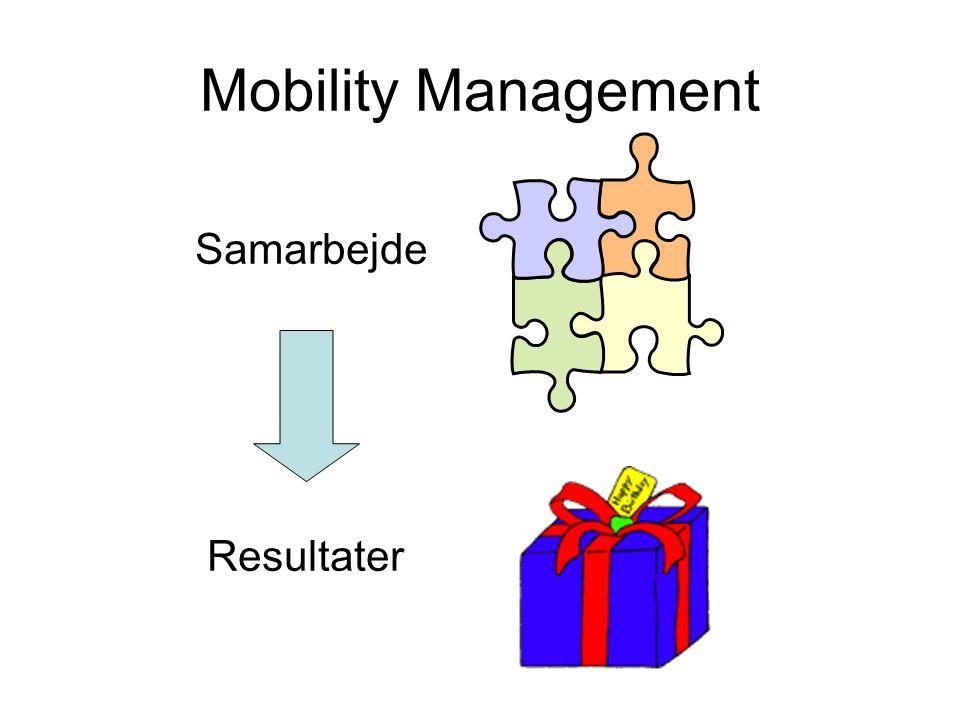 Mobility Management Samarbejde Resultater