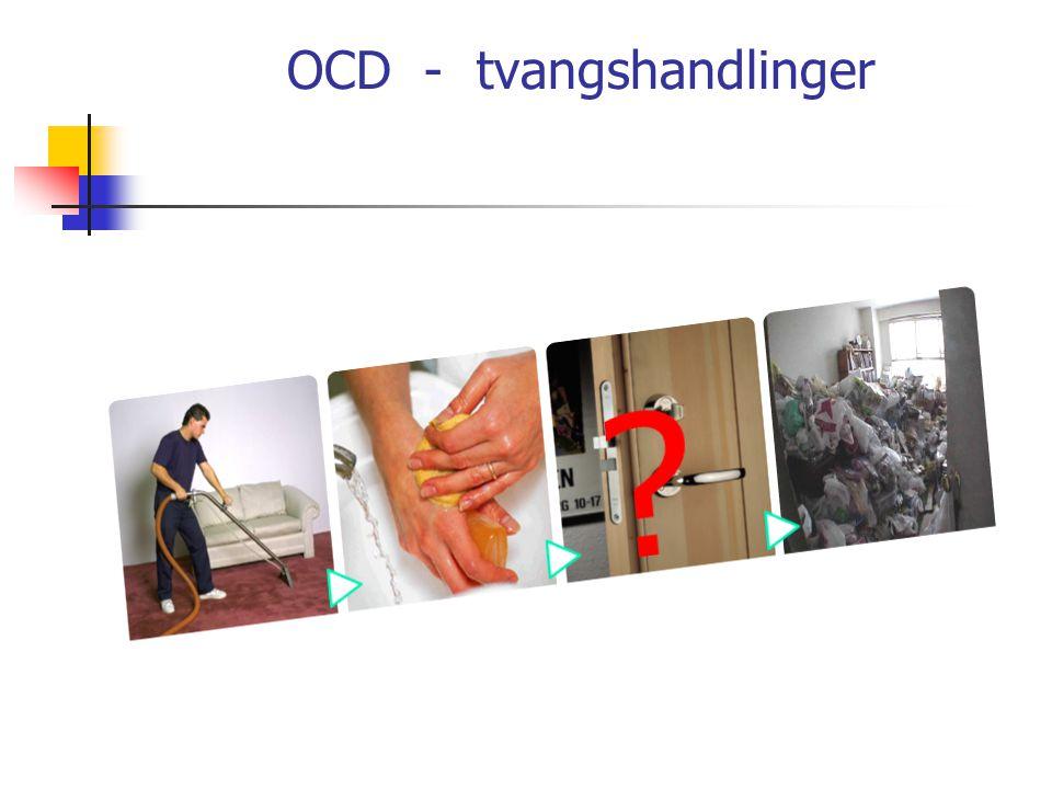 OCD - tvangshandlinger