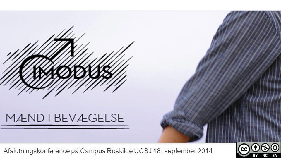 Afslutningskonference på Campus Roskilde UCSJ 18. september 2014