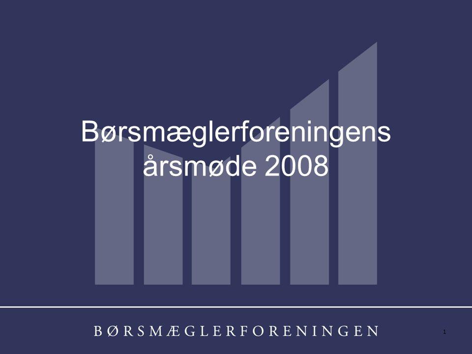 1 Børsmæglerforeningens årsmøde 2008