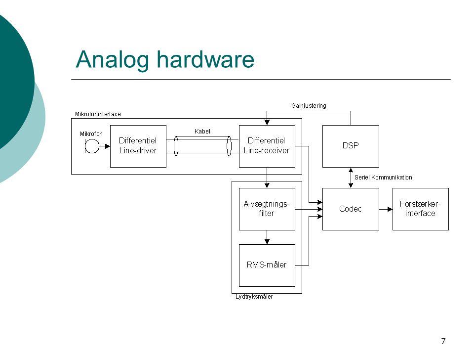 7 Analog hardware