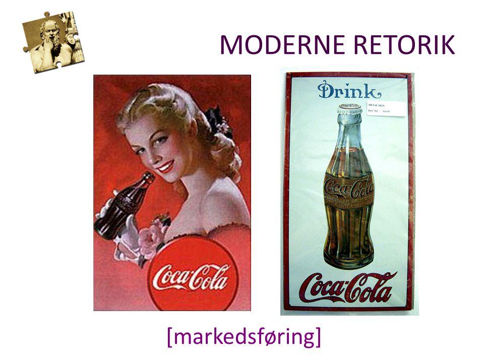 [markedsføring] MODERNE RETORIK