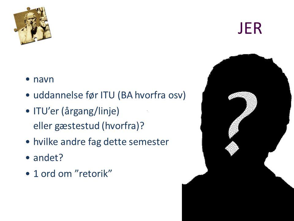 navn uddannelse før ITU (BA hvorfra osv) ITU'er (årgang/linje) eller gæstestud (hvorfra).