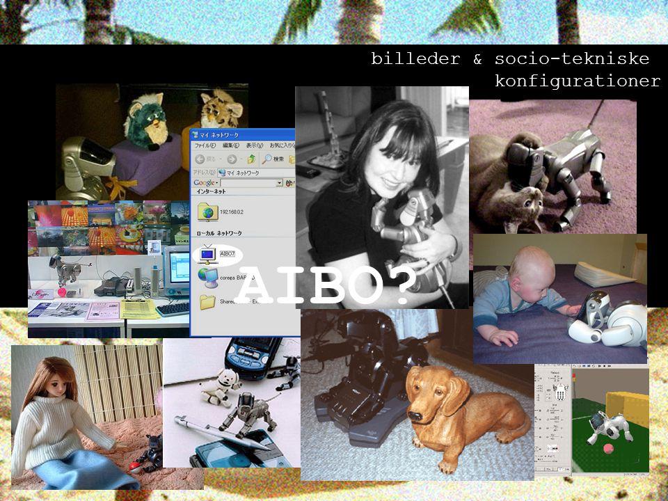 AIBO billeder & socio-tekniske konfigurationer