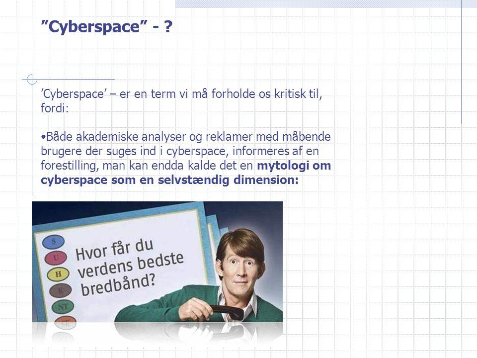 Cyberspace - .