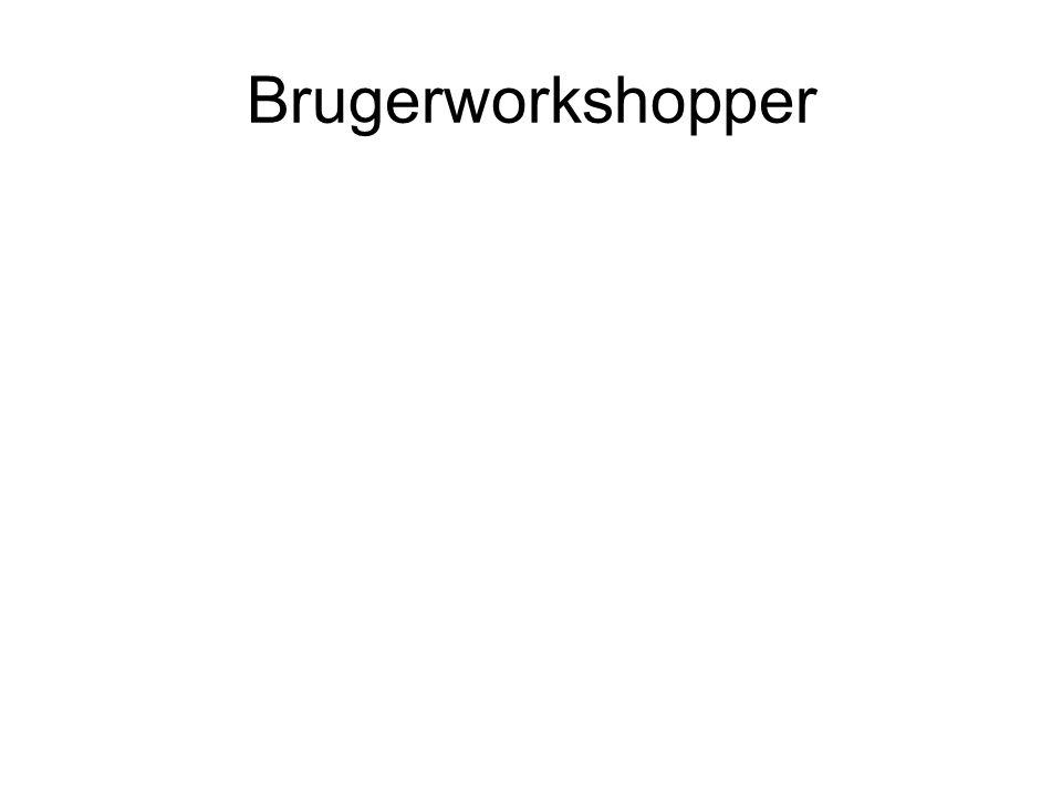 Brugerworkshopper
