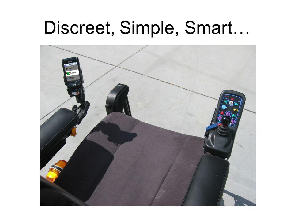 Discreet, Simple, Smart…