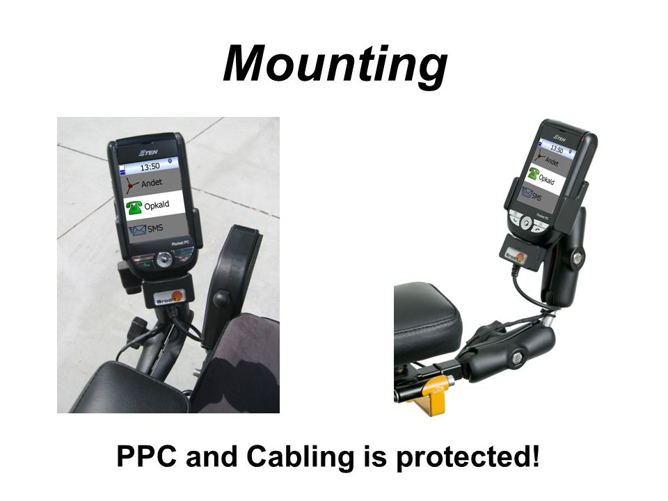 Mounting PPC and Cabling is protected!