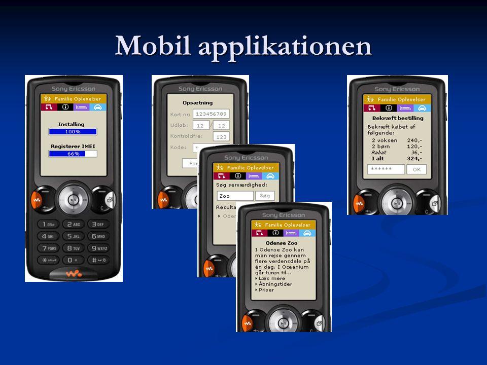 Mobil applikationen