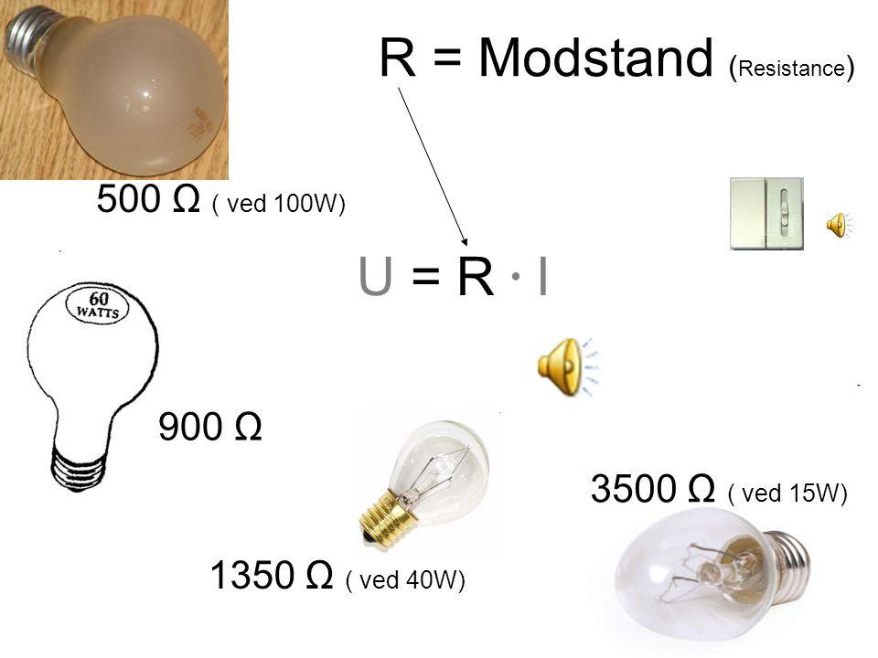 Spændingen (=volt) kan altså opfattes som tryk, hvorved elektronerne presses rundt i kredsløbet.