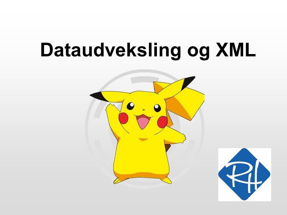 Dataudveksling og XML