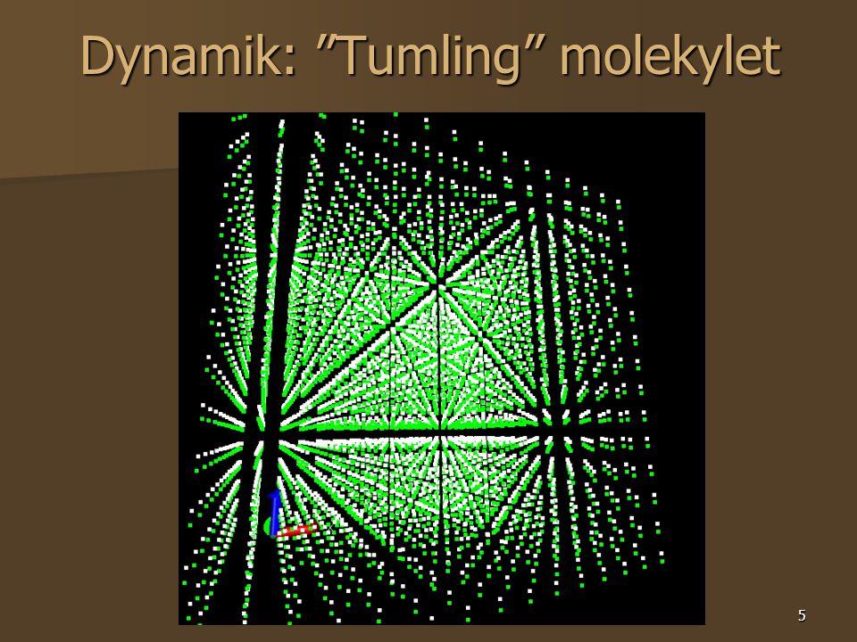5 Dynamik: Tumling molekylet