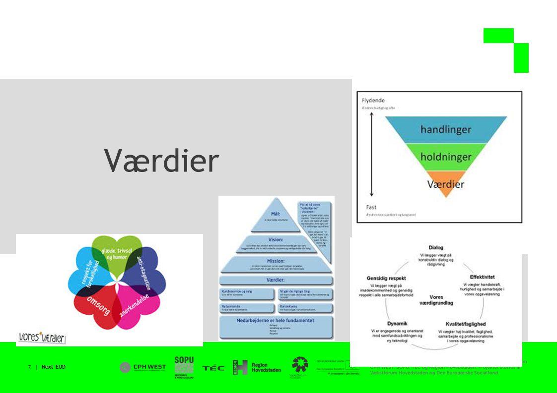 | Next EUD 7 Værdier