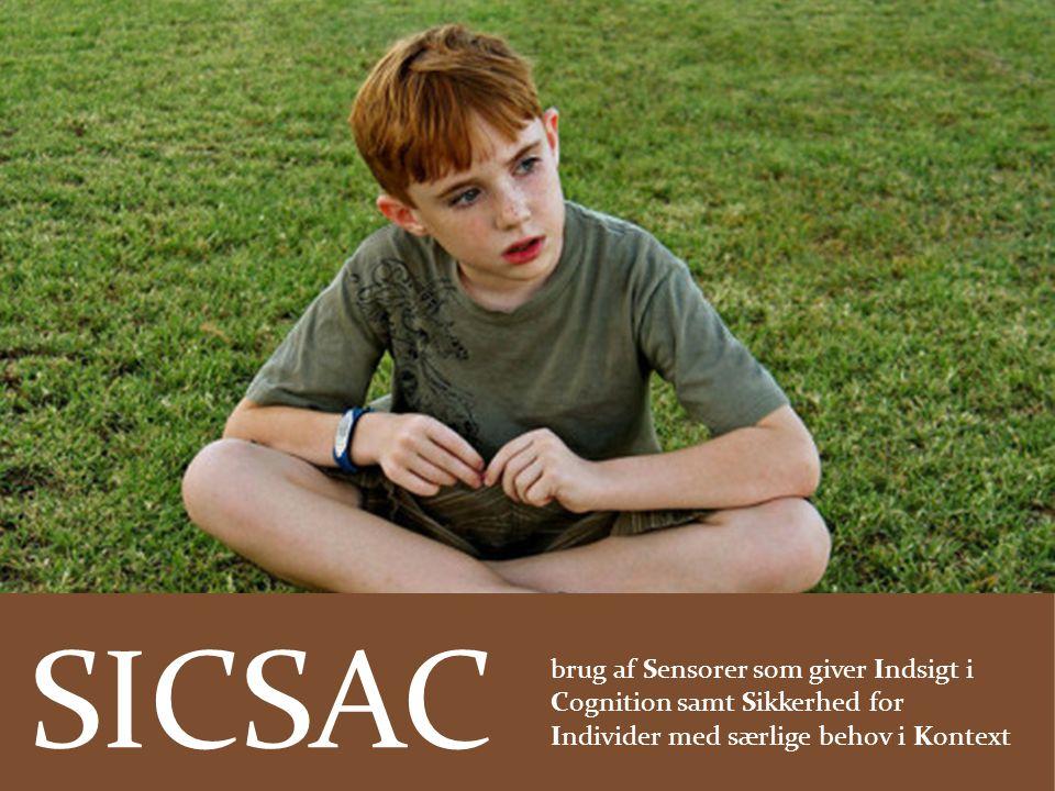 SICSAC brug af Sensorer som giver Indsigt i Cognition samt Sikkerhed for Individer med særlige behov i Kontext