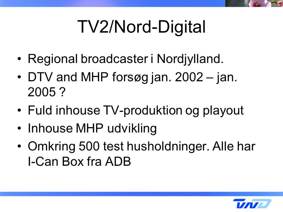 TV2/Nord-Digital Regional broadcaster i Nordjylland.