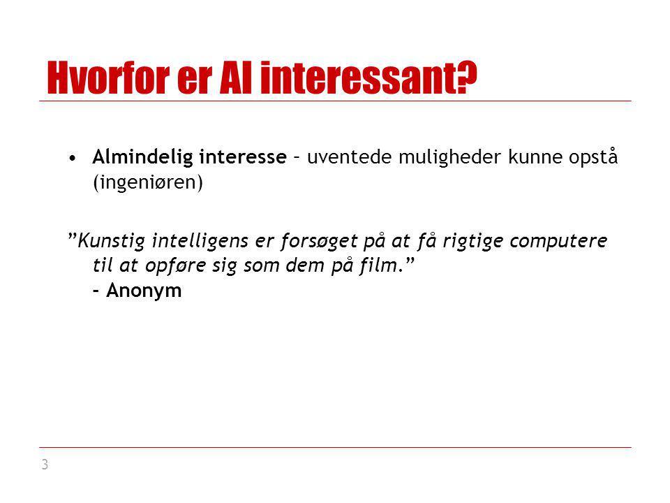 3 Hvorfor er AI interessant.