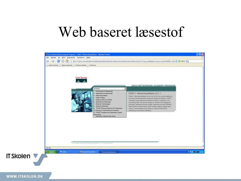 Web baseret læsestof