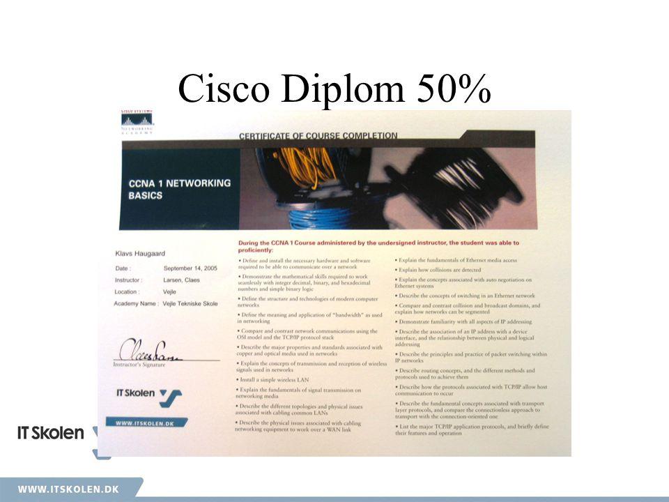 Cisco Diplom 50%