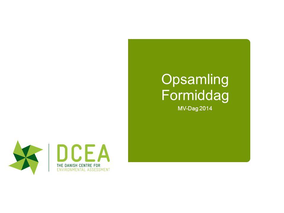 Opsamling Formiddag MV-Dag 2014