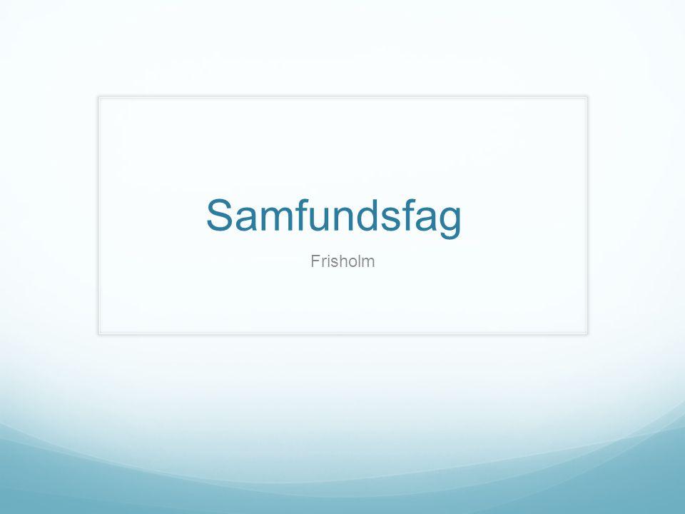 Samfundsfag Frisholm
