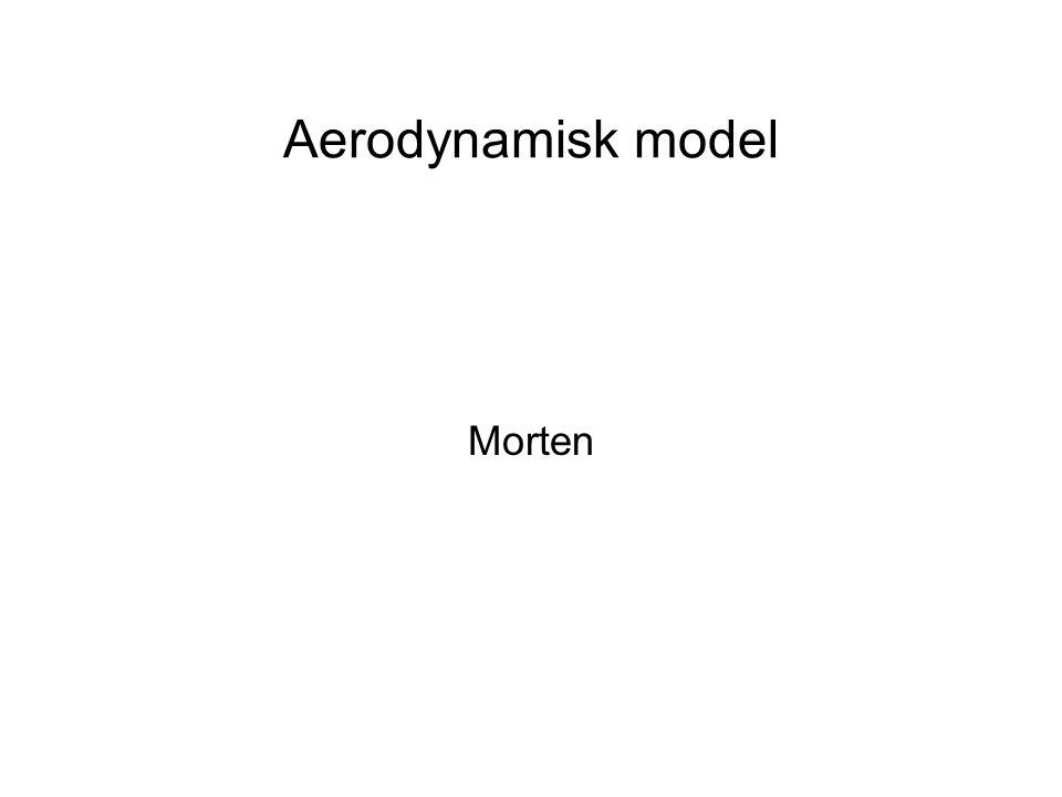 Aerodynamisk model Morten