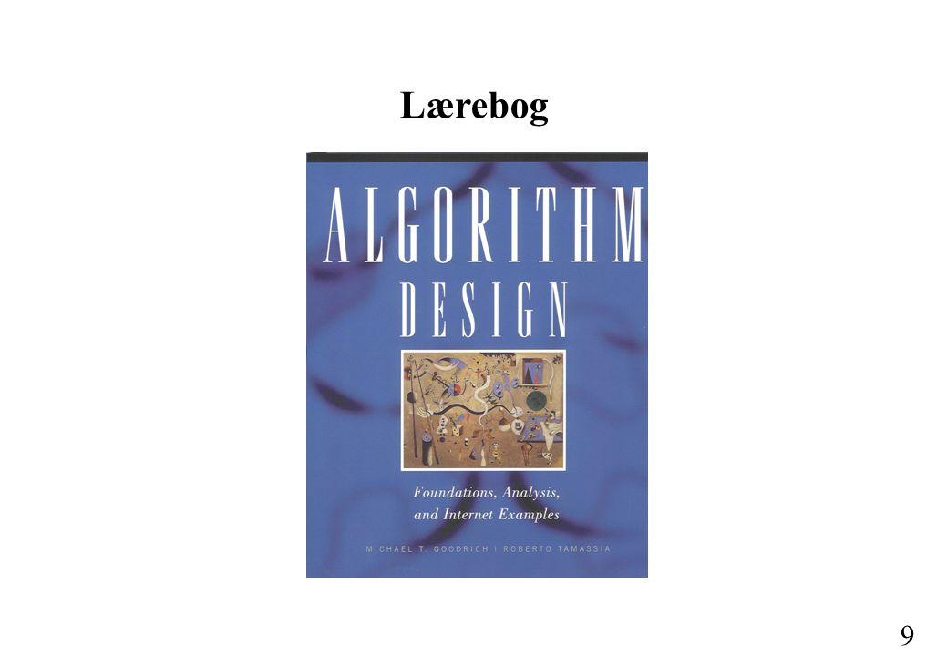 8 6.Internetalgoritmer I Strengsøgning. Tekstkomprimering.