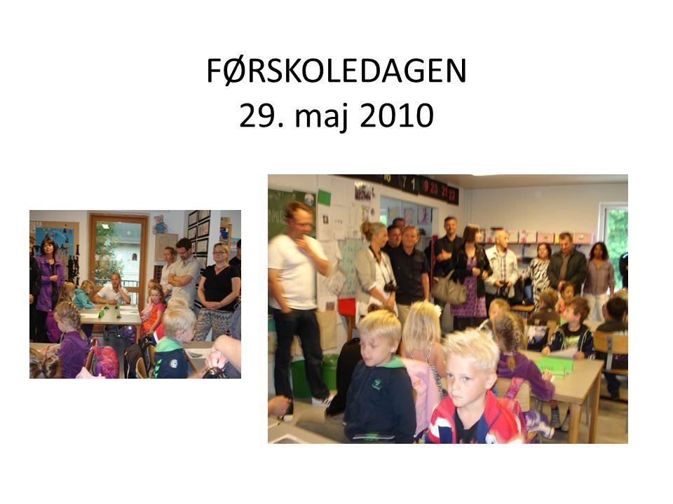 FØRSKOLEDAGEN 29. maj 2010