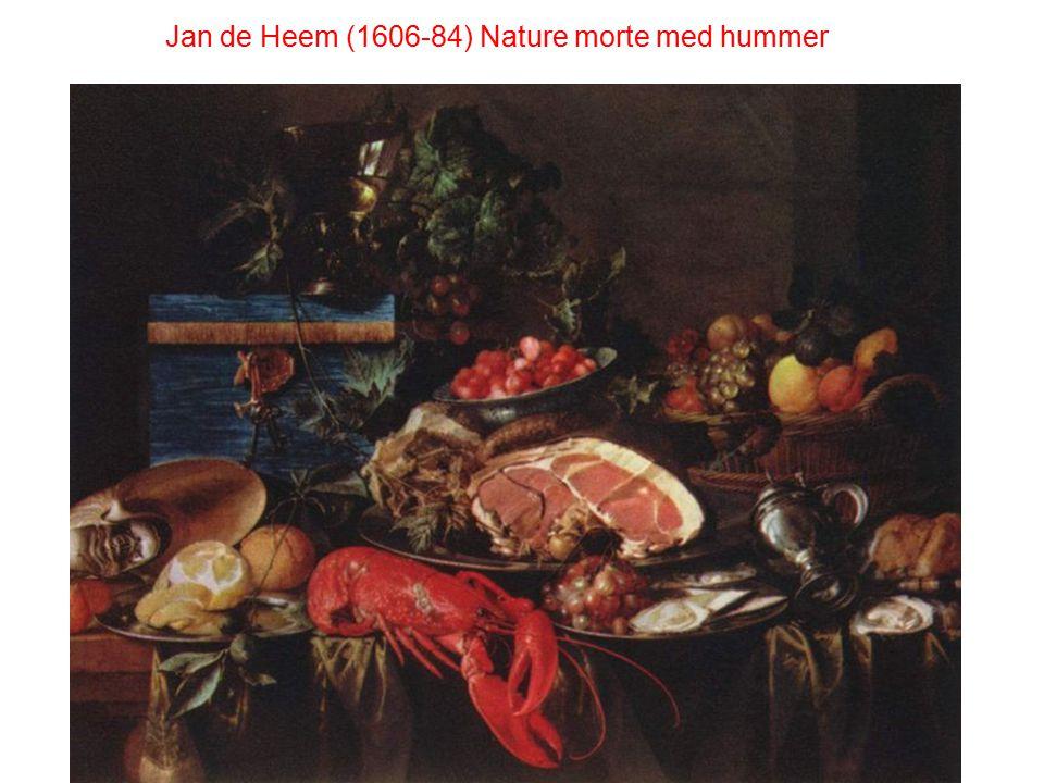 Jan de Heem (1606-84) Nature morte med hummer