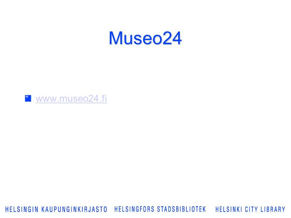 Museo24 www.museo24.fi