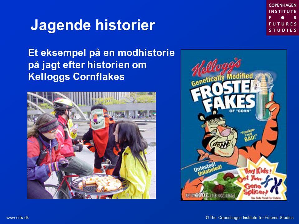 © The Copenhagen Institute for Futures Studieswww.cifs.dk Et eksempel på en modhistorie på jagt efter historien om Kelloggs Cornflakes Jagende historier