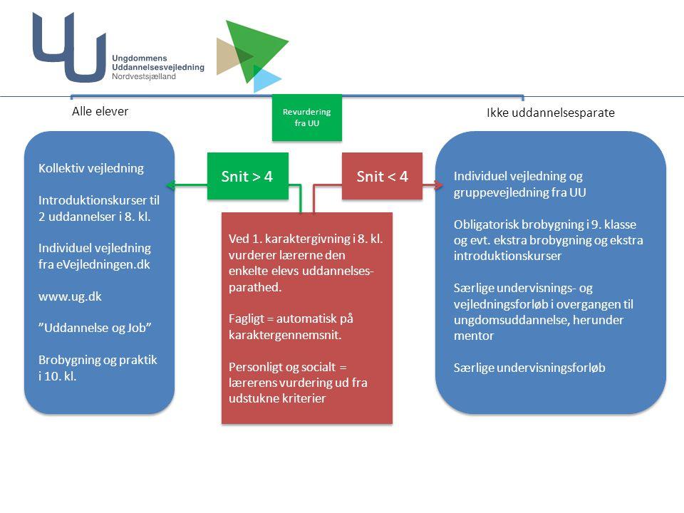 Kollektiv vejledning Introduktionskurser til 2 uddannelser i 8.