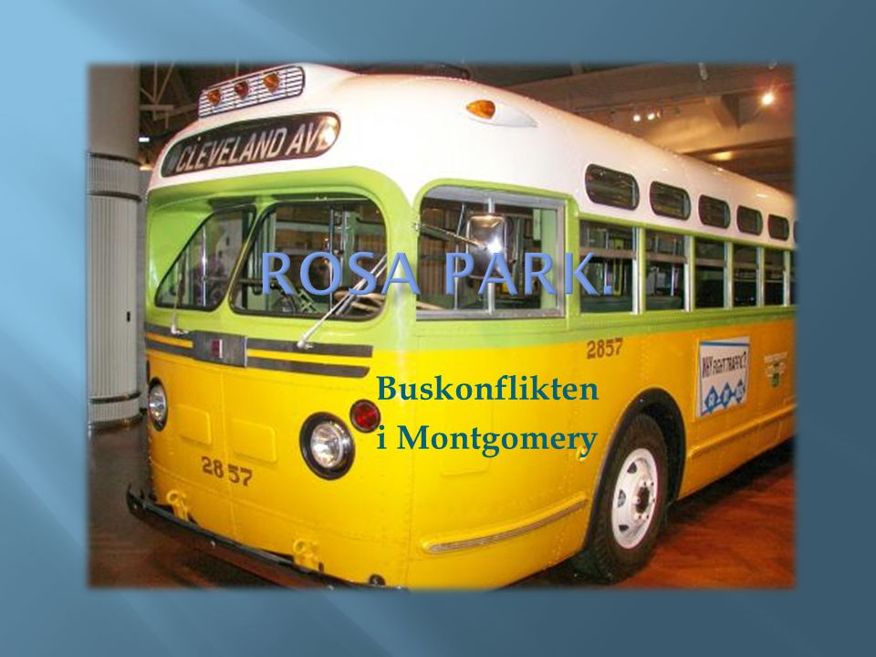 Buskonflikten i Montgomery