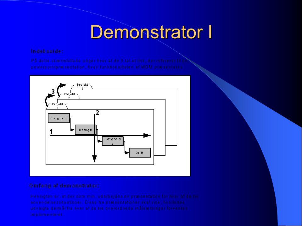 Demonstrator I