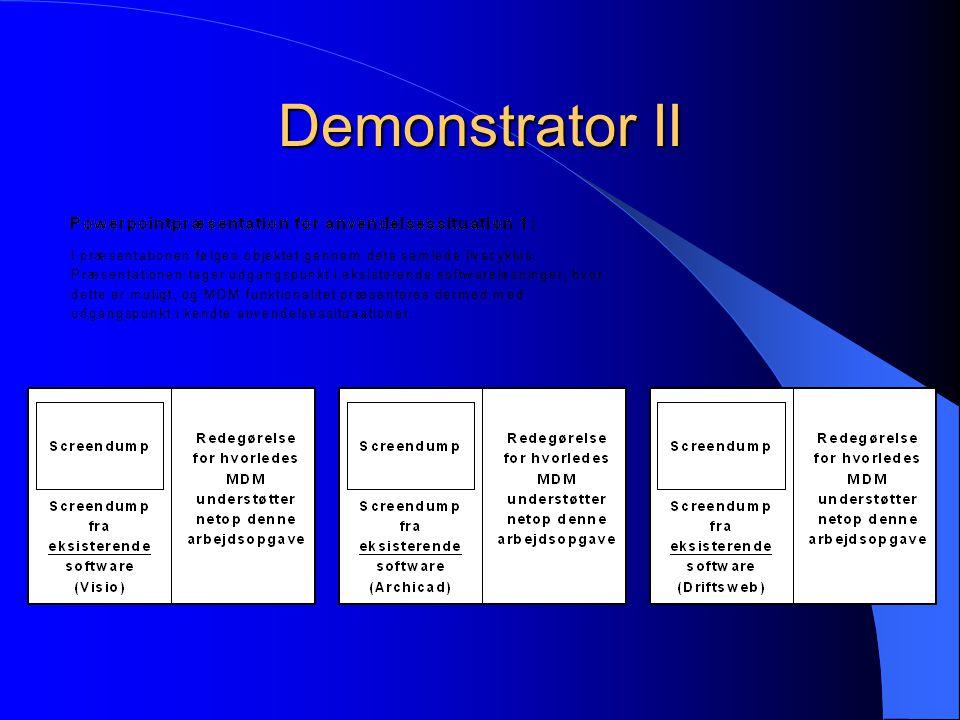 Demonstrator II
