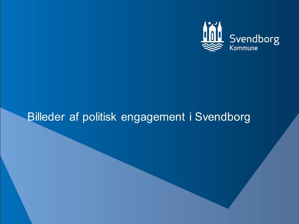 Billeder af politisk engagement i Svendborg