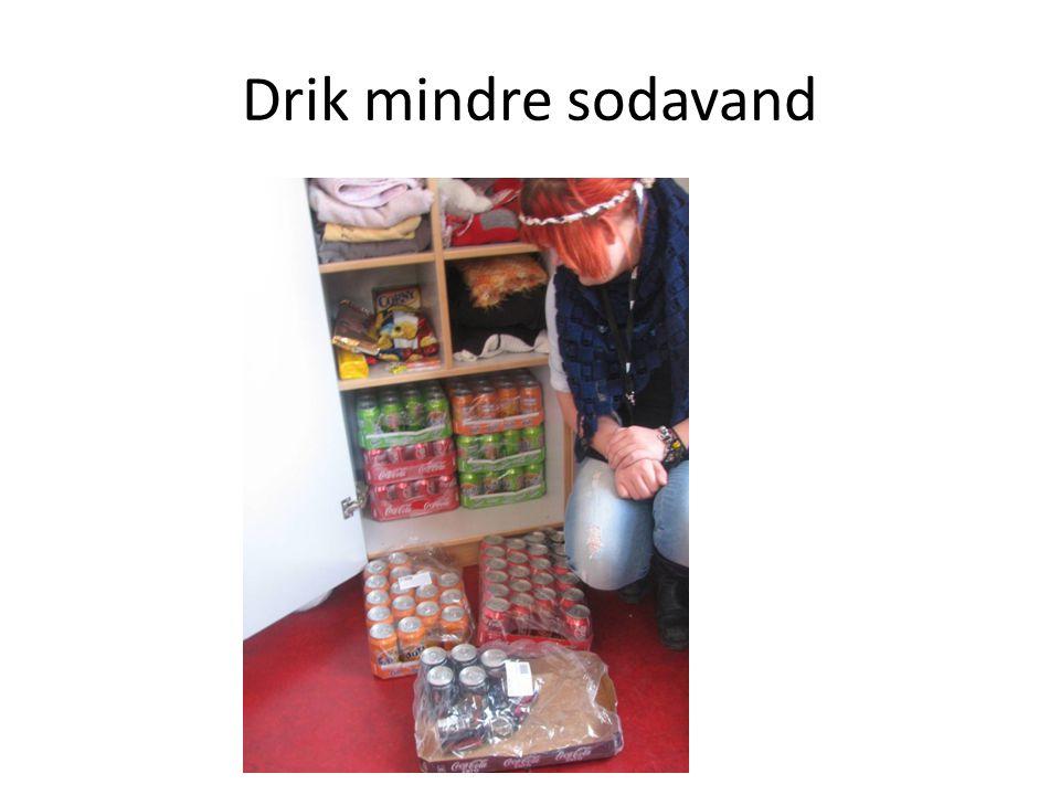 Drik mindre sodavand