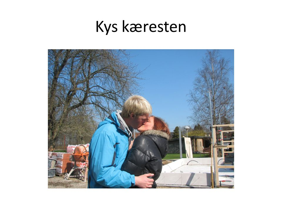 Kys kæresten