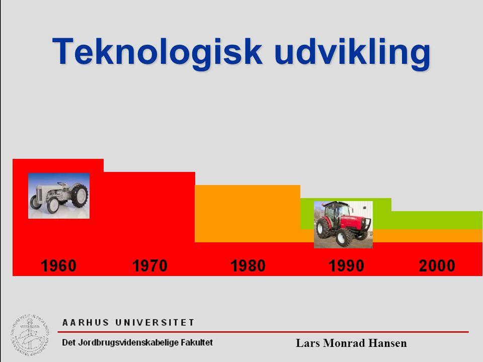 Lars Monrad Hansen Teknologisk udvikling