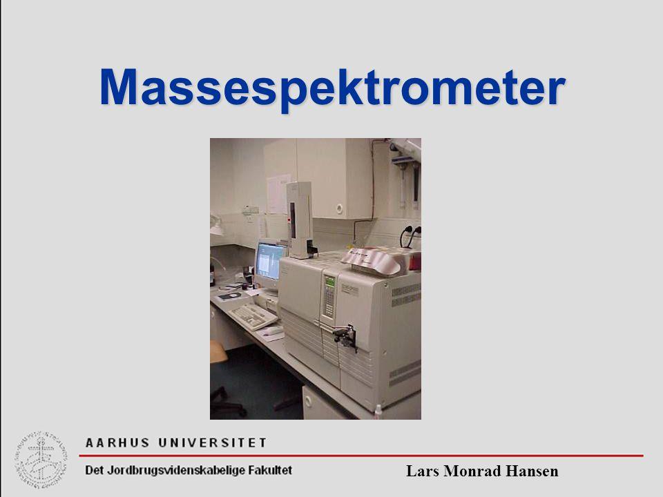Massespektrometer